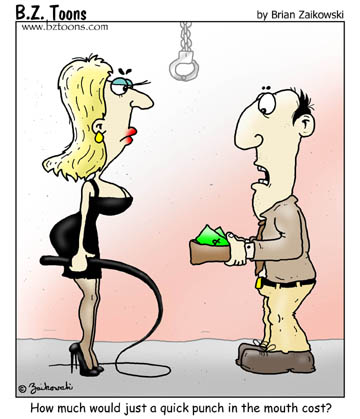 Ms Whiplash meets a man