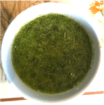 basil marinade