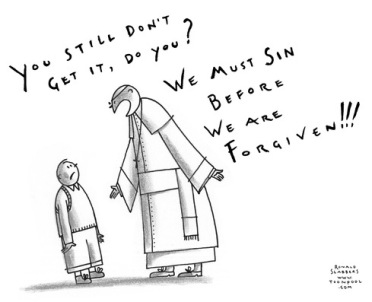 sinning and forgiveness