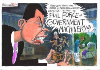 Unaccountable officials